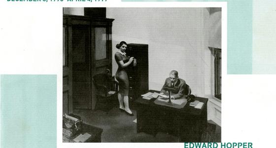 Edward Hopper, Office at Night