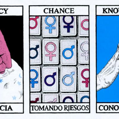 Kim Abeles, HIV/AIDS Tarot Cards