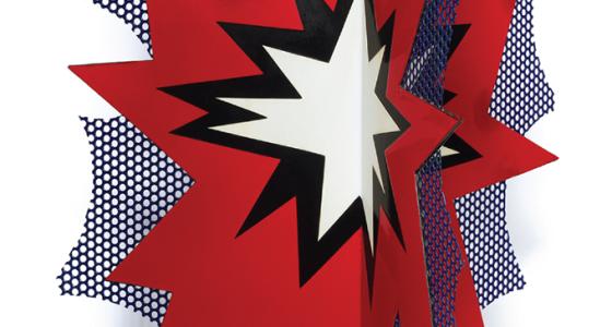 Roy Lichtenstein, Standing Explosion