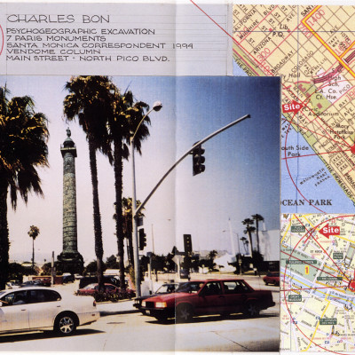 Charles Bon, Paris/Santa Monica Monument Replacement