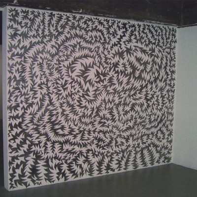 Untitled wall drawing