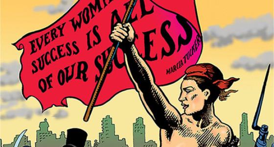 Lynn Hershman Leeson, Women Art Revolution poster