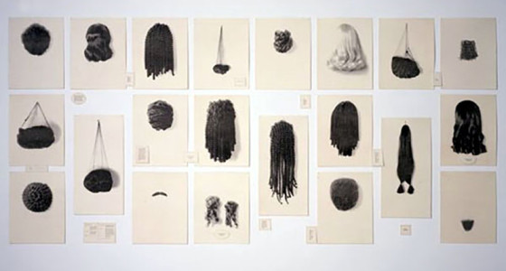 Lorna Simpson, Wigs