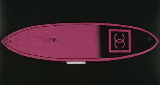 Libby Black, Chanel Surfboard